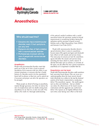 Anaesthetics guide