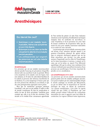 Anesthétiques