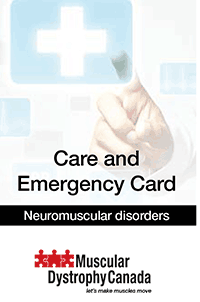 Care and Emergency Card
