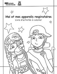 Moi et mes appareils respiratoires : Livre d'activités à colorier