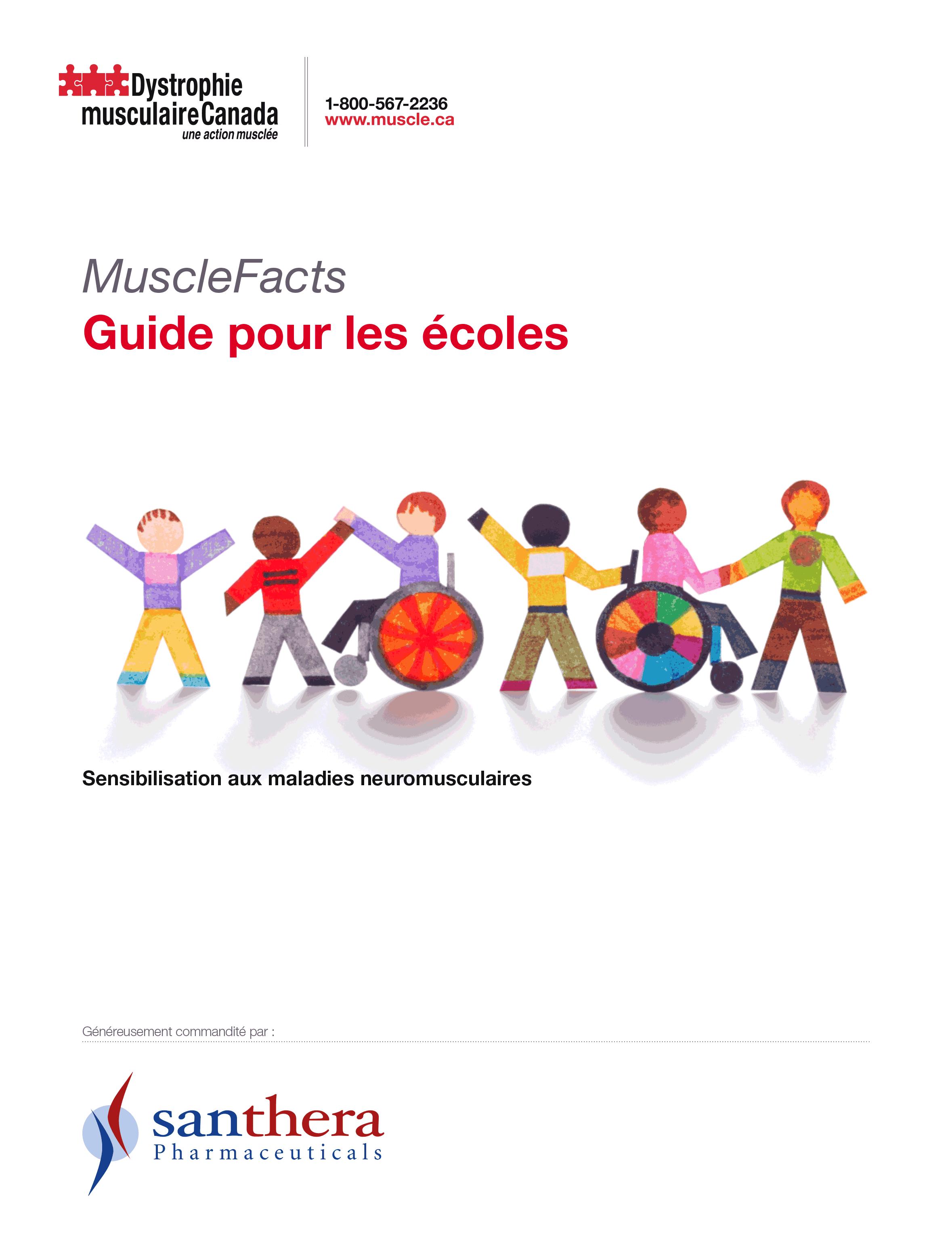 MuscleFacts : Guide pour les écoles