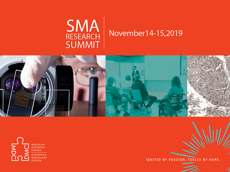 Key topics in Spinal Muscular Atrophy research discussed at first ever Muscular Dystrophy Canada SMA Research Summit