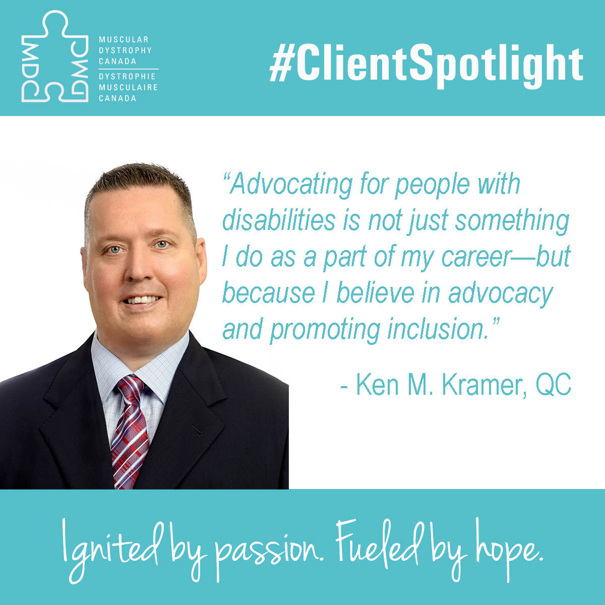 Feel Good Friday Client Spotlight: Ken M. Kramer