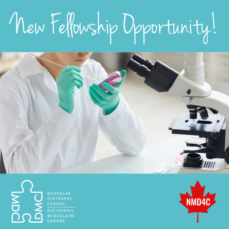 NMD4C and MDC Launch Postdoctoral Fellowship Funding Competition